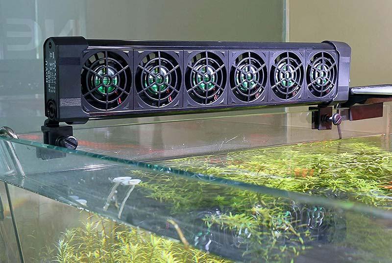 Hệ thống quạt làm mát cho bể cá thủy sinh